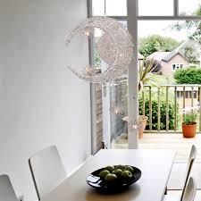 star pendant lighting. LightInTheBox Moon Star Featured Pendant Light With 5 Lights Globe Mini Style Home Ceiling Fixture For Dining Room Living Lighting
