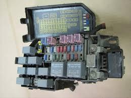 2003 2004 2005 kia rio oem main fuse relay box (check layout) Fuse And Relay Box Fuse And Relay Box #97 fuse and relay box location in primera p12