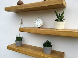 Full Size of Shelves:wonderful Floating Shelve Natural Walnut Effect Shelf  L Bq Prd Departments ...