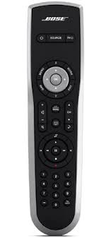 bose universal remote control. the bose remote included with lifestyle t20 home theater system universal control
