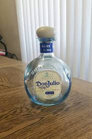 Decorative Liquor Bottles Empty Don Julio Blue Glass Decorative Liquor Bottle from 18