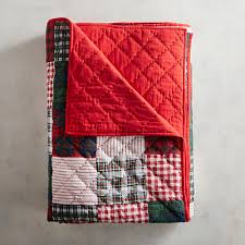 Plaid Patchwork King Quilt | Pier 1 Imports &  Adamdwight.com