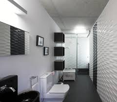 Black And White Bathroom Accessories Black Shelving Unit White