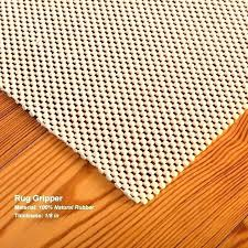 100 natural rubber rug pad sophisticated for hard floors