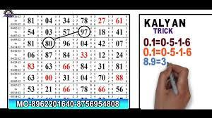 Kalyan 24 04 2019 Kalyan Matka Number And Main Mumbai Matka Tips Chart Lucky Number