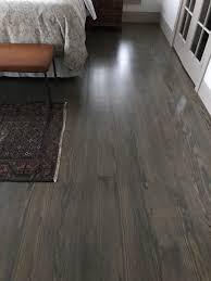 custom stain on pine floor