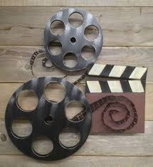 Small Picture Large Home Cinema Theatre Movie Reels Wall Plaque Sign TV Game