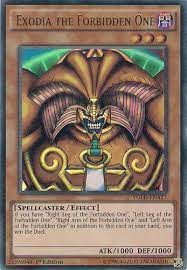 Single cards, boxes, packs, decks, games, supplies, tins, & more. Exodia The Forbidden One Yugioh Card Prices