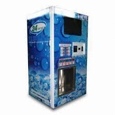 Mobile Ice Vending Machines Classy Coinoperated Ice Vending Machine With Bill Acceptor Used For