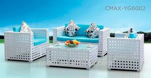 white outdoor furniture. middle east 2015 new design white rattan outdoor furniture garden sofa cmaxyg6002 l