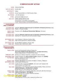 Format Cv English Fresh Curriculum Vitae English Example Pdf Cv