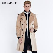 2019 ursmart long beige men in large trench coat lapels bi double ted coat dust british fashion men s windbreaker from cacy 137 66 dhgate com