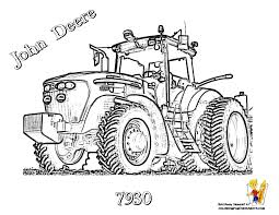 Small Picture Epic John Deere Tractor Coloring Page 77 With Additional Download