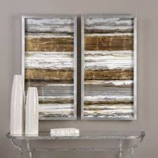 >uttermost wood wall art for less overstock