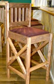 white rustic bar stools. Plain Rustic Rustic Bar Stools In White E