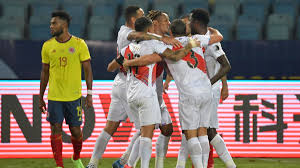 Defensive Discipline And Rely On Fast Counter-attacks, Peru Beats Colombia  2-1