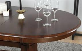 peachy design dark wood dining table townhouse oval extending and 4 chairs set bewley black best round to seat 6 8