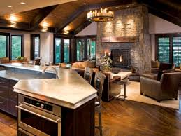 How To Decorate An Open Concept Kitchen Living Area