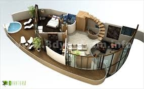Minimalist Design Floor Plan D On Decoration Redesign Model - Studio apartment floor plans 3d