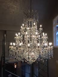 vancouver chandelier cleaning job complete
