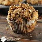 blueberry banana muffins with a pecan crunch