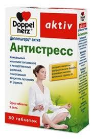 <b>Биодобавка Антистресс Aktiv 30</b> таблеток Doppelherz купить в ...