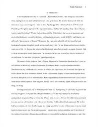 Personal Statement  Law School Personal Statement Review Sample
