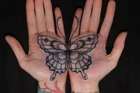 значение тату бабочка символизм насекомого для девушек и парней