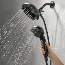 combo showerheads delta faucet