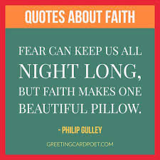 Christian Quotes On Faith Best of Quotes About Faith Religious And Christian Sayings Greeting Card