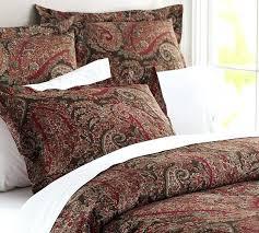 awesome aqua paisley duvet cover set king size 3 piece bedding shams