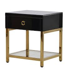gold bedside table. Perfect Table Bedroom Black And Gold Bedside TableSmall Table UKCandle Blue Inside O