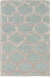 arise area rug rectangle light blue gray