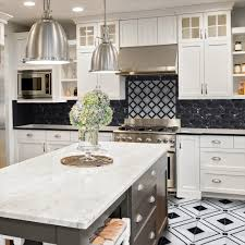 Jeff Lewis Kitchen Designs Jeff Lewis Carlyle Nero Marquina 11 1 8 In X 11 1 8 In X 8 Mm