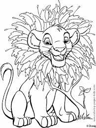 The Lion King Color Page Disney Coloring Pages Color Plate