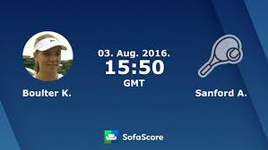 boulter k sanford a live score video stream and h2h results sofascore