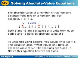the absolute value of a number is that numbers distance from zero on a number 4