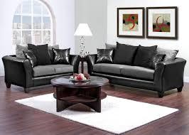 black living room furniture. lanzo 2 pc living room gray black living room furniture