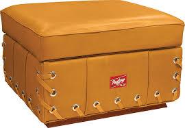 com rawlings heart of the hide glove chair with ottoman com rawlings heart of the hide glove chair with ottoman tan baseball