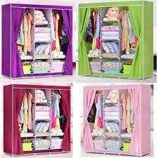 28 canvas wardrobe storage impressive clothes closet organizer storage rack portable wardrobe clothing