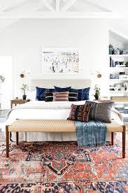 antique oriental rug in bedroom 5