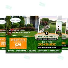 lawn care marketing postcard 2 the lawn market lawn care