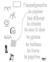 Best 25+ French worksheets ideas on Pinterest   Teaching french ...