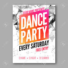 free dance flyer templates dance party poster template night dance party flyer dj session free