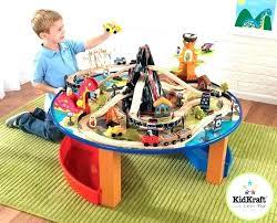 thomas train set table the train wooden table train tank engine wooden train set play table