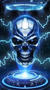 New cool skull live wallpaper!