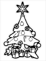 Free Printable Coloring Pages Christmas Tree 23 christmas tree templates free printable psd, eps, png, pdf on christmas newsletter template free pdf