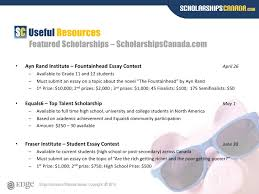 scholarships presentation   different applications 20