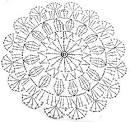 「レース編み 編み図」の画像検索結果