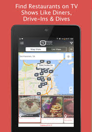 tv food maps tvfoodmaps for android download tvfoodmaps android